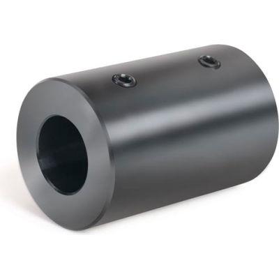 "Set Screw Coupling, 1/2"", Black Oxide Steel, RC-050"