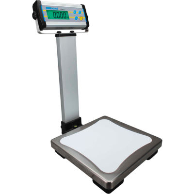 Adam Equipment CPWPlus 15P Digital Bench Scale with Indicator Stand, 33 lb x 0.01 lb
