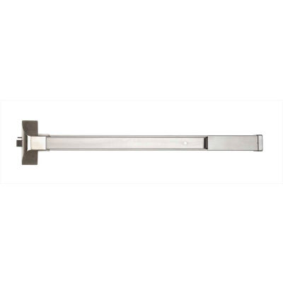 """Copper Creek Fire Rated Grade 1 Rim Exit, 36""""Wide, Satin Stainless"""