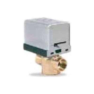 """Erie 3/4"""" General Purpose Sweat Zone Valve With 24V Actuator & End Switch VT2317G13A02A"""