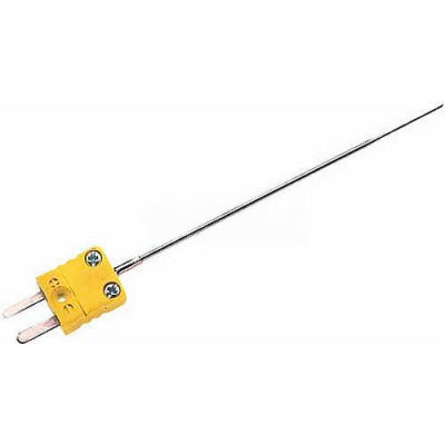 Cooper-Atkins Thermocouple, 50207-K, Chiseled Tip Micr1edle Probe, Direct Connect, Type K-Min Qty 2