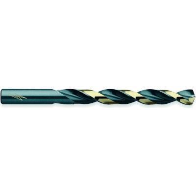 "Triumph Twist Drill Thunderbit Style T1HD HSS Jobbers Drill Black & Bronze Oxide 9/64"" 12 Pack - Pkg Qty 12"