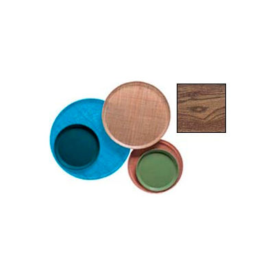 """Cambro 1000304 - Camtray 10"""" Round,  Country Oak - Pkg Qty 12"""