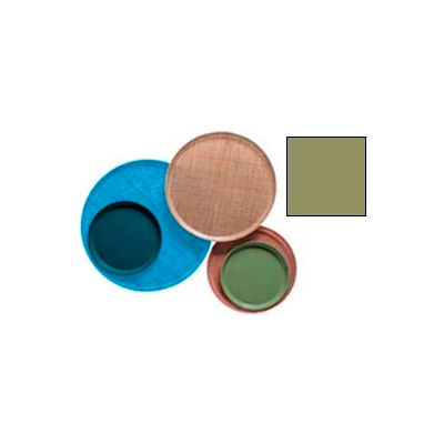 """Cambro 1000428 - Camtray 10"""" Round,  Olive Green - Pkg Qty 12"""