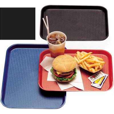 "Cambro 1014FF110 - Tray Fast Food 10"" x 14"",  Black - Pkg Qty 24"