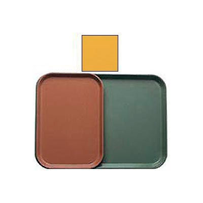 """Cambro 1015171 - Camtray 10"""" x 15"""" Rectangle,  Tuscan Gold - Pkg Qty 24"""
