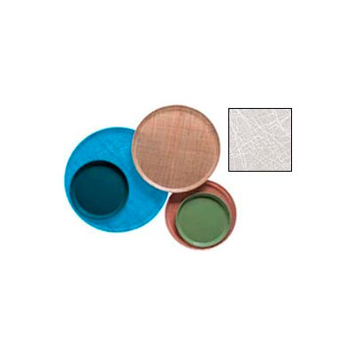 """Cambro 1200215 - Camtray 12"""" Round,  Abstract Gray - Pkg Qty 12"""