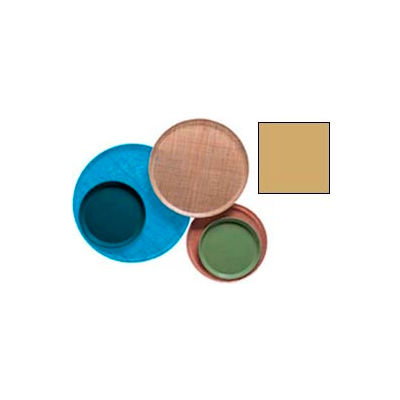 """Cambro 1200514 - Camtray 12"""" Round,  Earthen Gold - Pkg Qty 12"""