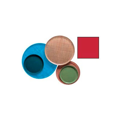 """Cambro 1200521 - Camtray 12"""" Round,  Cambro Red - Pkg Qty 12"""