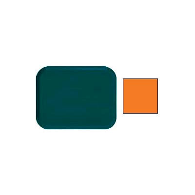 "Cambro 1216222 - Camtray 12"" x 16"" Rectangle,  Orange Pizazz - Pkg Qty 12"