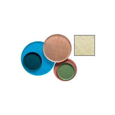 """Cambro 1300214 - Camtray 13"""" Round,  Abstract Tan - Pkg Qty 12"""