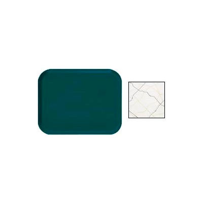 Cambro 1318270 - Camtray 13 x 18 Rectangle,  Swirl Black And Gold - Pkg Qty 12