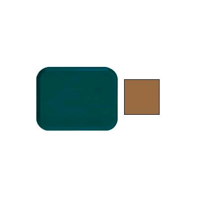 Cambro 1318508 - Camtray 13 x 18 Rectangle,  Suede Brown - Pkg Qty 12