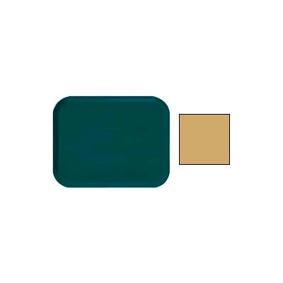 Cambro 1318514 - Camtray 13 x 18 Rectangle,  Earthen Gold - Pkg Qty 12