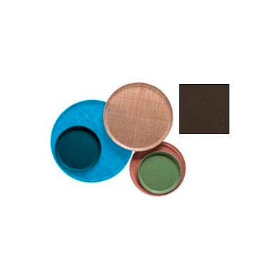 """Cambro 1400116 - Camtray 14"""" Round,  Brazil Brown - Pkg Qty 12"""