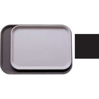 "Cambro 1418CT110 - Tray Camtread Rectangular 14"" x 18"",  Black - Pkg Qty 12"