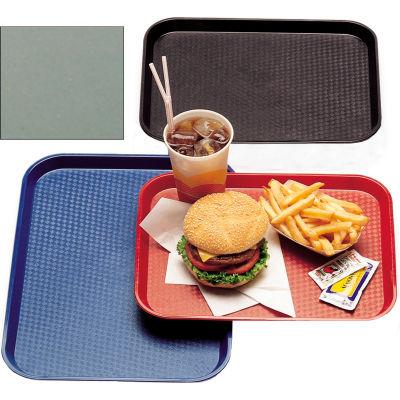 "Cambro 1418FF107 - Tray Fast Food 14"" x 18"",  Pearl Gray - Pkg Qty 12"