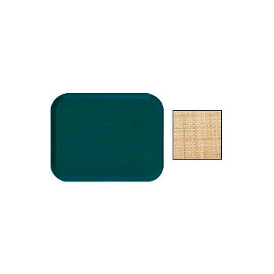 """Cambro 1622204 - Camtray 16"""" x 22"""" Rectangle,  Rattan - Pkg Qty 12"""