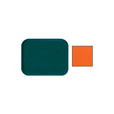 "Cambro 1622220 - Camtray 16"" x 22"" Rectangle,  Citrus Orange - Pkg Qty 12"
