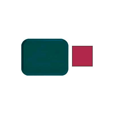 """Cambro 1622505 - Camtray 16"""" x 22"""" Rectangle,  Cherry Red - Pkg Qty 12"""