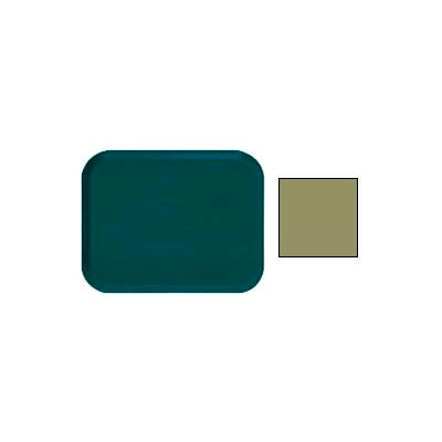 """Cambro 16225428 - Camtray 16"""" x 22"""".5 Rectangle,  Olive Green - Pkg Qty 12"""