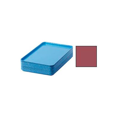 "Cambro 1826410 - Camtray 18"" x 26"" Rectangular,  Raspberry Cream - Pkg Qty 6"