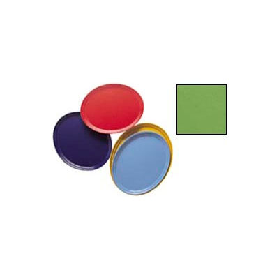 """Cambro 2500113 - Camtray 19"""" x 24"""" Oval,  Lime-Ade - Pkg Qty 6"""