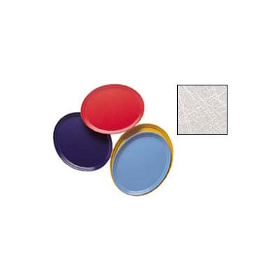 """Cambro 2500215 - Camtray 19"""" x 24"""" Oval,  Abstract Gray - Pkg Qty 6"""