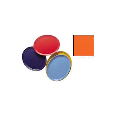"Cambro 2500220 - Camtray 19"" x 24"" Oval,  Citrus Orange - Pkg Qty 6"