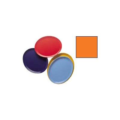 "Cambro 2500222 - Camtray 19"" x 24"" Oval,  Orange Pizazz - Pkg Qty 6"