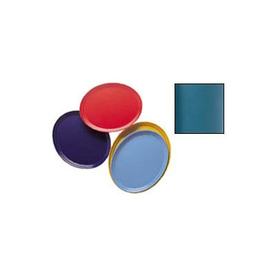 """Cambro 2500414 - Camtray 19"""" x 24"""" Oval,  Teal - Pkg Qty 6"""