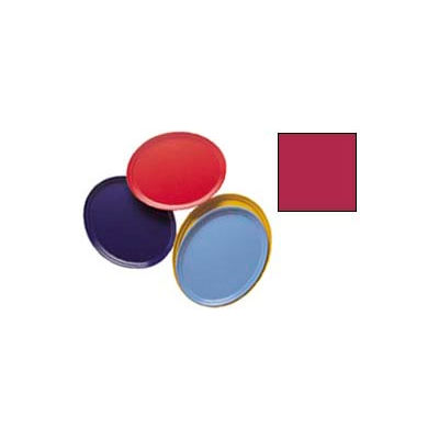 """Cambro 2500505 - Camtray 19"""" x 24"""" Oval,  Cherry Red - Pkg Qty 6"""