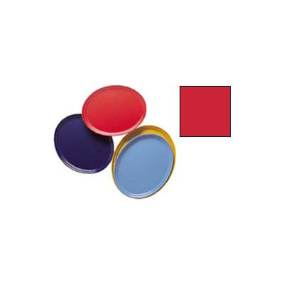 Cambro 2700521 - Camtray 22 x 26 Oval,  Cambro Red - Pkg Qty 6