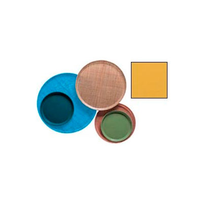 """Cambro 900171 - Camtray 9"""" Round,  Tuscan Gold - Pkg Qty 12"""