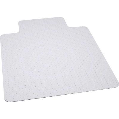 """ES Robbins® tapis chaise de bureau pour tapis - 45"""" W x 53"""" L avec Lip - bord biseauté"""