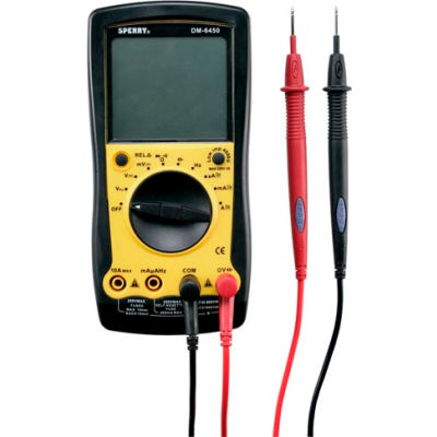 Sperry DM6450 9 Function Digital Multimeter