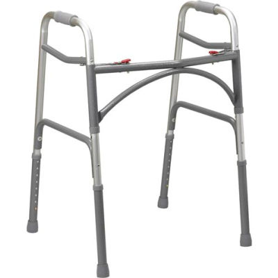 Drive Medical 10220-1 Heavy Duty Bariatric Walker, Adult,  500 lbs. Capacity