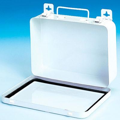 First Aid Box Metal - 9-1/16x2-3/8x6-5/16 - Pkg Qty 12