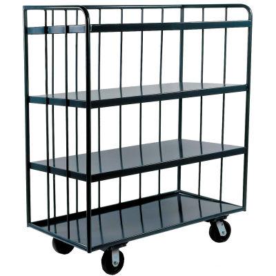 Durham Mfg® Three Sided Shelf Truck OPT-4830-95 48x30