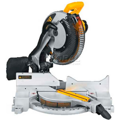 "DeWALT® Miter Saw, DW715, 12"" Single-Bevel Compound Miter Saw, 4000 RPM"