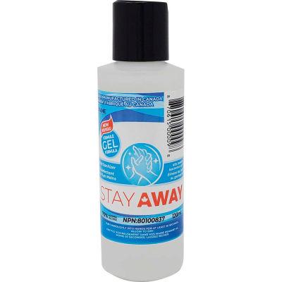 Stay Away Hand Sanitizer Flip Top Bottle, 120 ml, 55 Bottles/Case -DVEL-STYSGC70120ML
