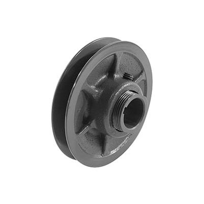 """Single-Groove Variable Pitch Sheave, 1-1/8"""" Bore, 6"""" O. D., 1VP60X 1-1/8"""