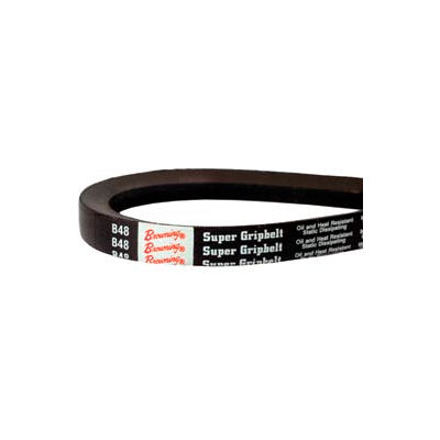 V-Belt, 1/2 X 54.2 In., A52, Wrapped