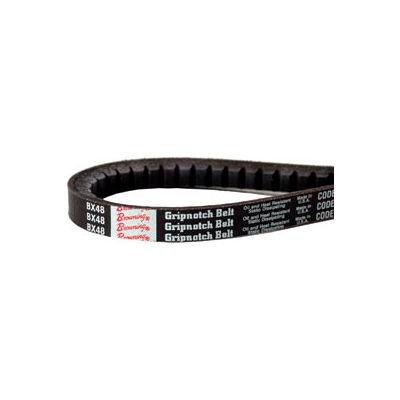 V-Belt, 1/2 X 37.2 In., AX35, Raw Edge Cogged