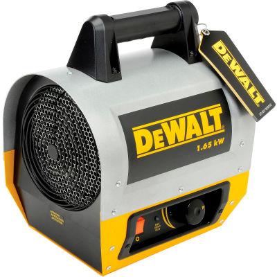 DeWALT® Portable Forced Air Electric Heater DXH165, 1650 Watt
