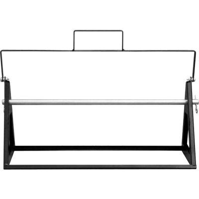 """Support de bobine portable pour 8"""" Spool, noir, 25"""" W x 8 «D x 7-1/2""""H"""