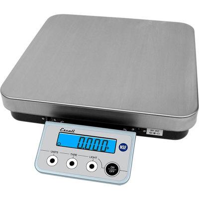Escali RL136 partie contrôle balance, 13lb x 0,1 oz / 6 kg x 2 g, acier inoxydable