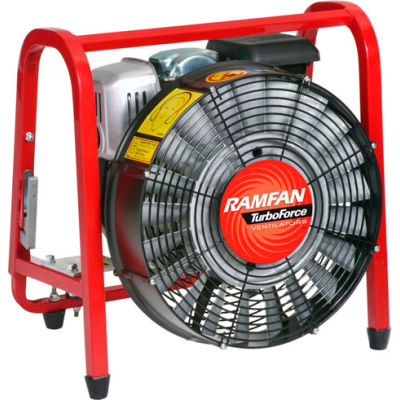 "Ramfan 16"" Gasoline PPV Fan Turbo Blower GB5001HSE 5 HP 10058 CFM"