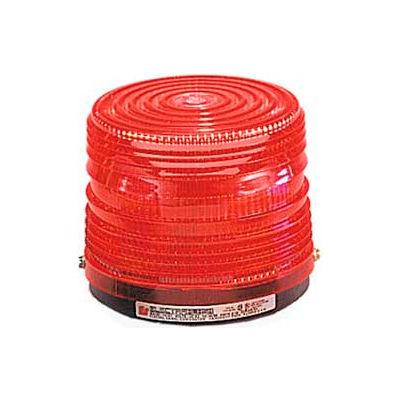 Federal Signal 141ST-120R Strobe light, 120VAC, Red