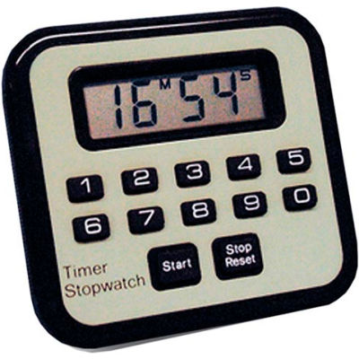 Count Up & Down Digital Timer - Pkg Qty 5